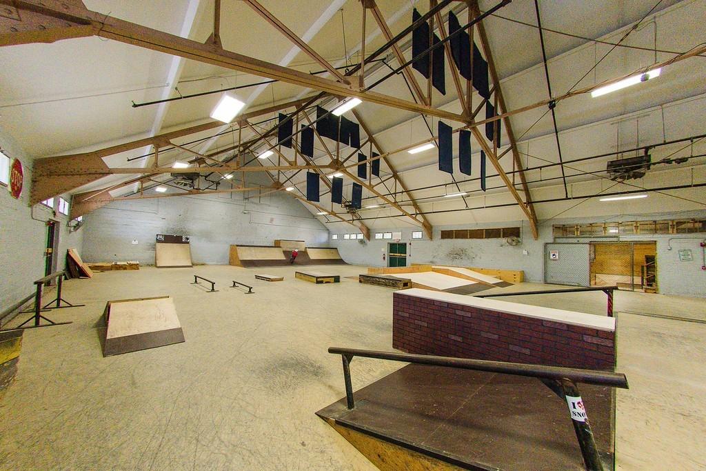bath skate park